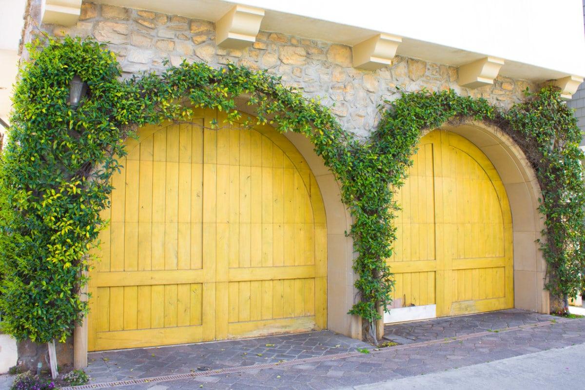 houten garagepoorten
