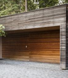 houten garagepoort kantelpoort